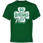 Mississippi State Bulldogs Four Leaf Seal T-Shirt - Green