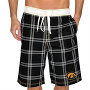 Iowa Hawkeyes Pop Up Boardshorts - Black
