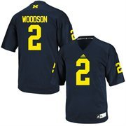 Charles Woodson Michigan Wolverines #2 Replica College Jersey - Navy