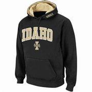 Idaho Vandals Arch Logo Pullover Hoodie Sweatshirt - Black