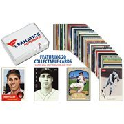Bob Feller-Cleveland Indians-Collectible Lot of 20 MLB Trading Cards