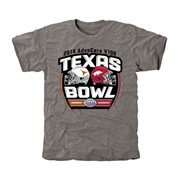 Mens Texas Longhorns vs. Arkansas Razorbacks Ash 2014 AdvoCare V100 Texas Bowl Dueling Tri-Blend T-Shirt
