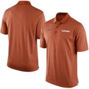 Men's Nike Orange Clemson Tigers Stadium Stripe Performance Polo