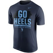 Men's Nike Navy Blue North Carolina Tar Heels Local Verbiage Dri-FIT Legend T-Shirt