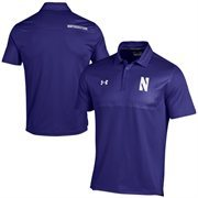 Northwestern Wildcats Under Armour Ultimate Coaches Sideline Polo - Purple