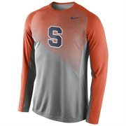 Mens Syracuse Orange Nike Fearless Shootaround Long Sleeve T-Shirt