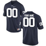 Men's Penn State Nittany Lions Nike Navy Blue Team Color Custom Game Jersey