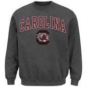 South Carolina Gamecocks Midsize Classic Crew Sweatshirt - Charcoal