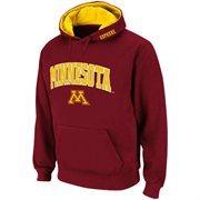 Mens Minnesota Golden Gophers Maroon Classic Twill II Pullover Hoodie Sweatshirt