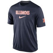 Men's Nike Navy Blue Illinois Fighting Illini March Dri-FIT Performance T-Shirt
