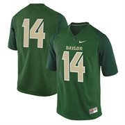 No. 14 Baylor Bears Nike Replica Football Jersey - Green