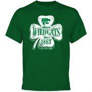 Kansas State Wildcats Four Leaf Seal T-Shirt - Green