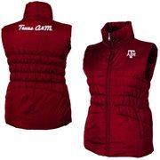 Women's Texas A&M Aggies Maroon Olympia Vest