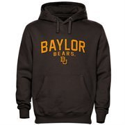 Baylor Bears Double Time Pullover Hoodie - Charcoal
