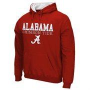 Alabama Crimson Tide 3-Stack II Pullover Hoodie - Crimson