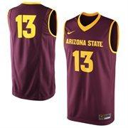 Men's Arizona State Sun Devils Nike Maroon No. 13 Replica Master Jersey