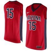 Men's Arizona Wildcats Nike Red No. 15 Replica Master Jersey