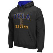 UCLA Bruins Arch & Logo Mascot Pullover Hoodie - Charcoal