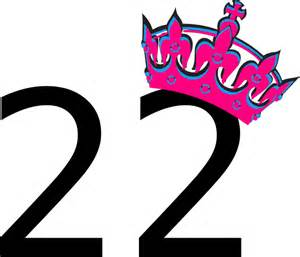 Pink Tilted Tiara And Number 22 Clip Art at Clker.com - vector clip ...